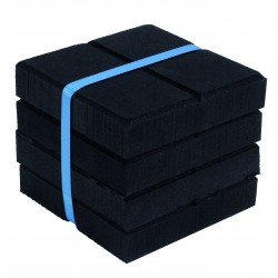 Support anti-vibrations recyclé 150x150x25 mm