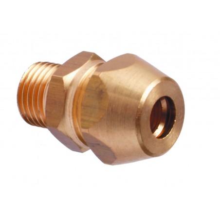 Raccord serrage pour électrode wand