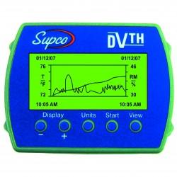 Enregistreur température et humidité avec écran DVTH