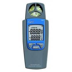 Thermomètre et anémomètre volume