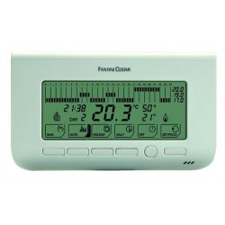 Thermostat d\'ambiance programmable CH150 Blanc