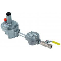 Kit détente gaz 1/2\' P.max : 500 mbar