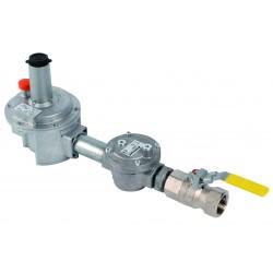 Kit détente gaz 1\' P.max : 500 mbar