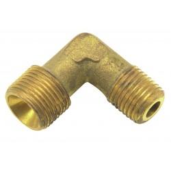 Nipple coudée 3/8 con-1/4 gaz