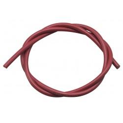 Câble pour électrode silicone D.7 rouge