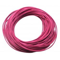 Câble pour électrode silicone D.4 rouge
