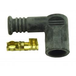 Cosse haute tension coudée D.6 mm