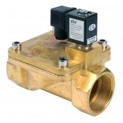 Electrovanne bronze 2\' NF action indirecte