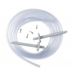 Climaset avec flexible PVC nipples matière plastique