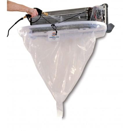 Bâche de protection nettoyage Mini-Split Bib XL (clim)