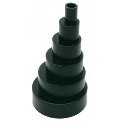 Adaptateur rigide noir C01-226