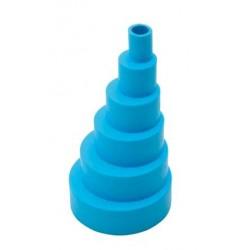 Adaptateur flexible bleu C01-231