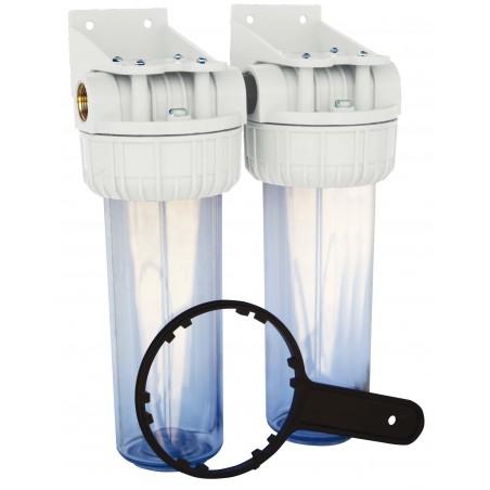 Filtres en plastique Duplex 3/4\'