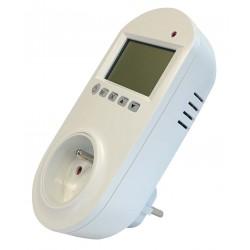 Prise connectée avec thermostat