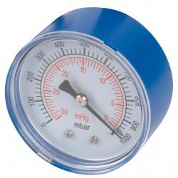 Manomètre pompe à vide axial