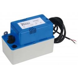 Pompe d\'évacuation des condensats avec bac