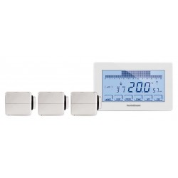 Kit thermostat RF WIFI 3 zones - 3 radiateurs