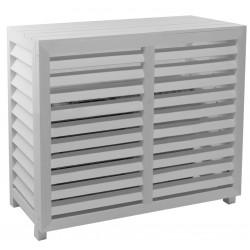 Cache climatisation Composite blanc M