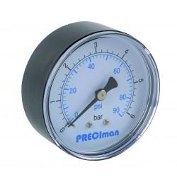 Manomètre ABS axial D63 0/6bar G1/4'
