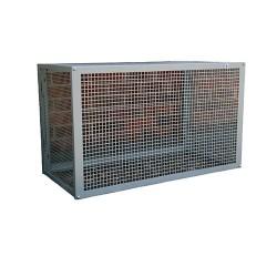 Grande cage protection anti-vandalisme pour climatiseur