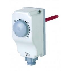 Aquastat plongeant de 0 à 90° avec réglage externe