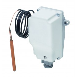 Aquastat avec capillaire de 0 à 90° avec réglage interne