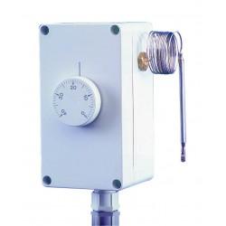 Aquastat étanche réglage externe 0/60°C capillaire 1000 mm