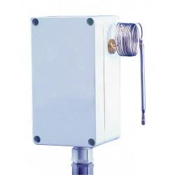 Aquastat étanche réglage interne 0/60°C capillaire 1000 mm