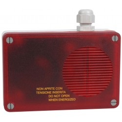 Alarme sonore avec flash 24V
