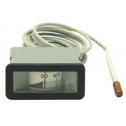 Thermomètre rectangulaire 64X31 de 0/120°C - L. 1500 mm
