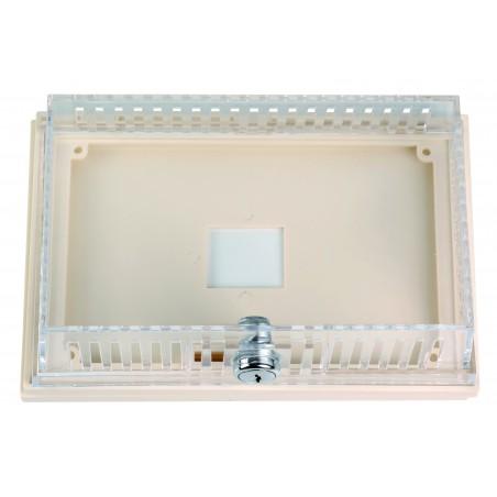 Boîte transparente pour thermostat L206xl117xP92