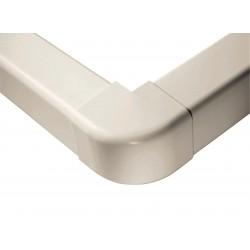 Extérieurs d\'angle 90° 80 mm blanc pur