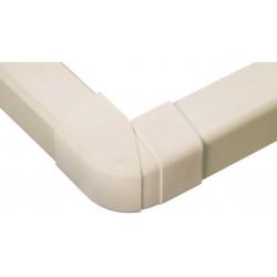 Extérieurs d\'angle 70-120° 80 mm blanc pur
