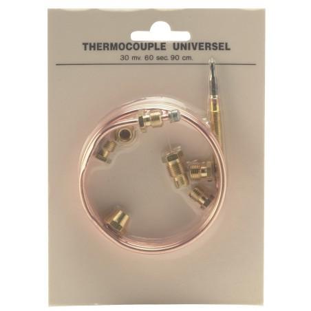 Thermocouple universel avec 6 raccords L.900mm