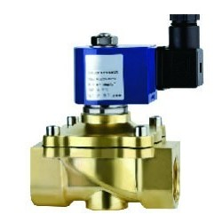 Electrovanne basse consommation Bronze 1\'1/2