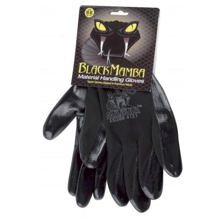 Paire de gants en nylon/nitrile taille L