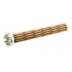 Résistances stéatites 1200 Watts diamètre 34mm L.270mm