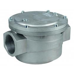 Filtre gaz 6 bar taraudé 1\' 1/2 Compact FGS4-6