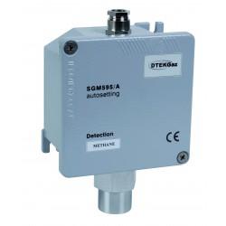 Sonde de détection industrielle hydrogène boitier métal IP65