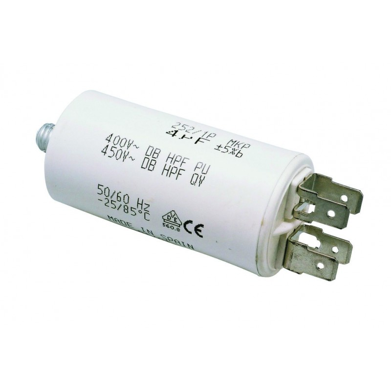 Condensateur moteur 14 mF 400 Volts