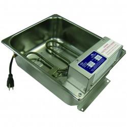 Bac d'évaporation des condensats 1,26 l/h Inox haute résistance