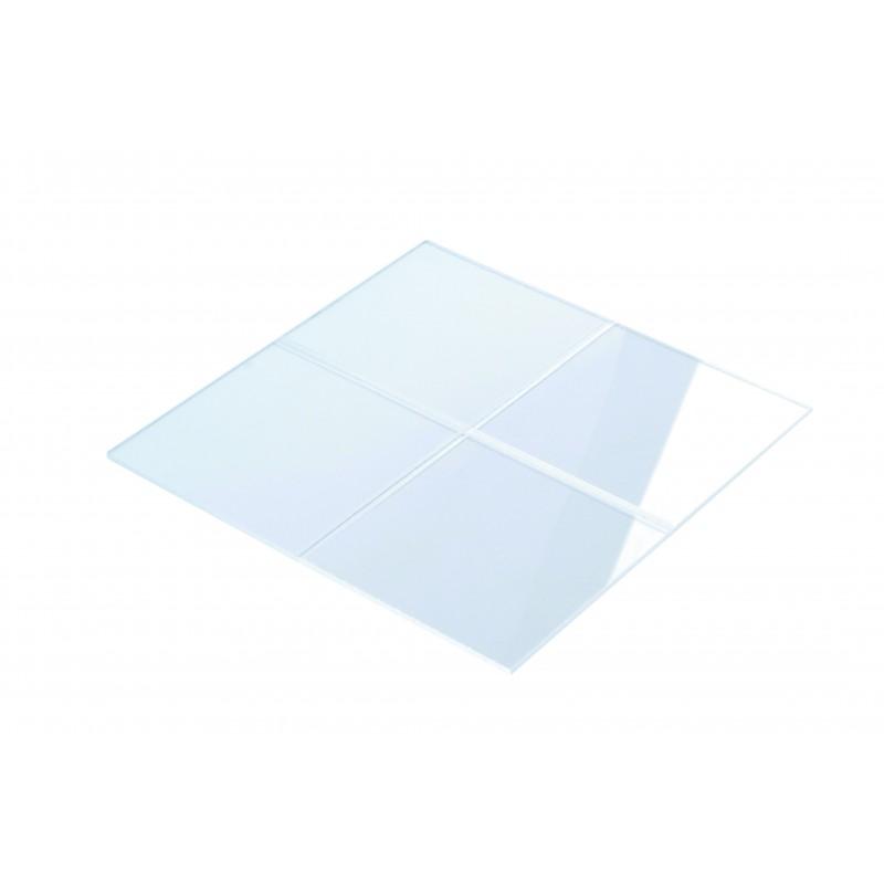 Vitre plexiglass pour coffret gaz 200x200