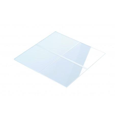 Vitre plexiglass pour coffret gaz 350x350