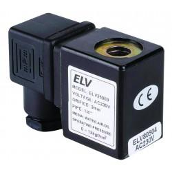 Bobine 12V AC pour vannes ELV