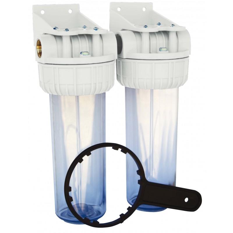 Filtres en plastique Duplex 1\'