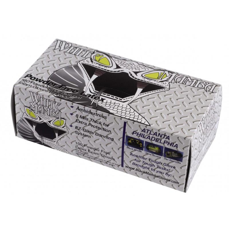 Boîte de 100 gants Blackmamba jetables latex L