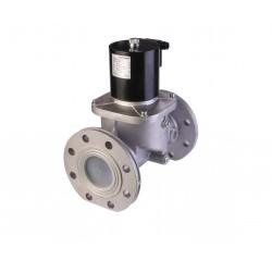 Electrovanne gaz automatique NF Aluminium brides DN100 6Bar