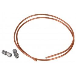 Kit tube cuivre et raccords D.6 / M1/8