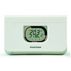 Thermostat d'ambiance hebdomadaire sans fil C57FRF avec récepteur