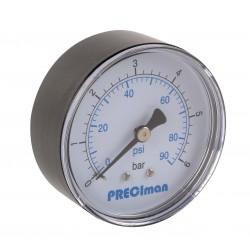 Manomètre ABS axial D50 0/6bar G1/4\'